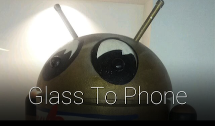 Send Photos From Your Glass To Your Android Phone And